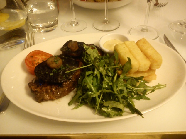 Dinner at Harvey Nichols Restaurant
