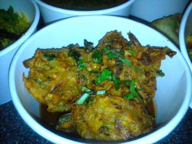 Bundobust onion bhaji