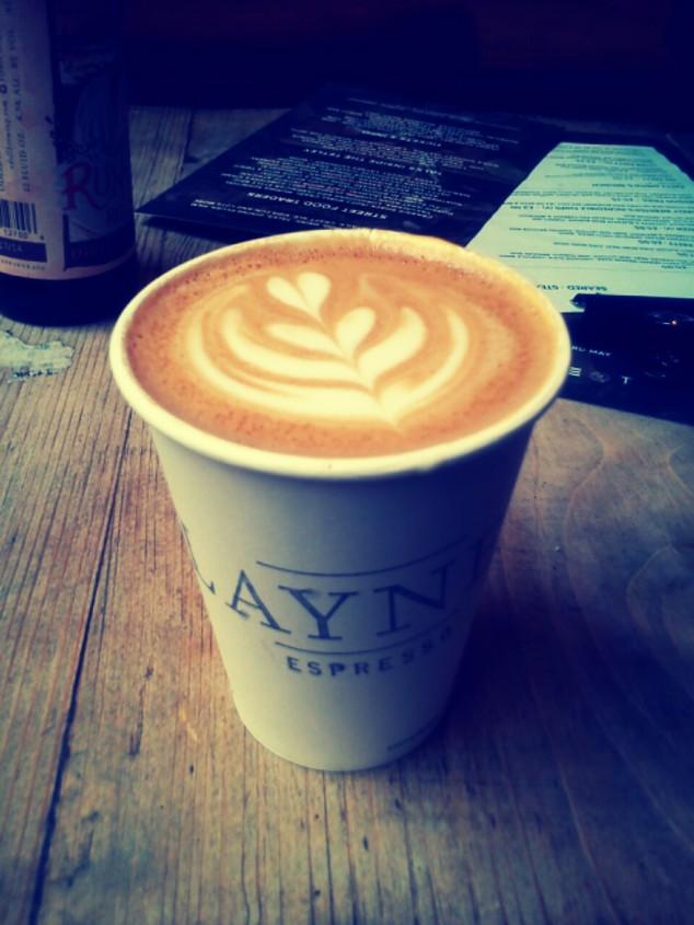 Laynes Espresso coffee