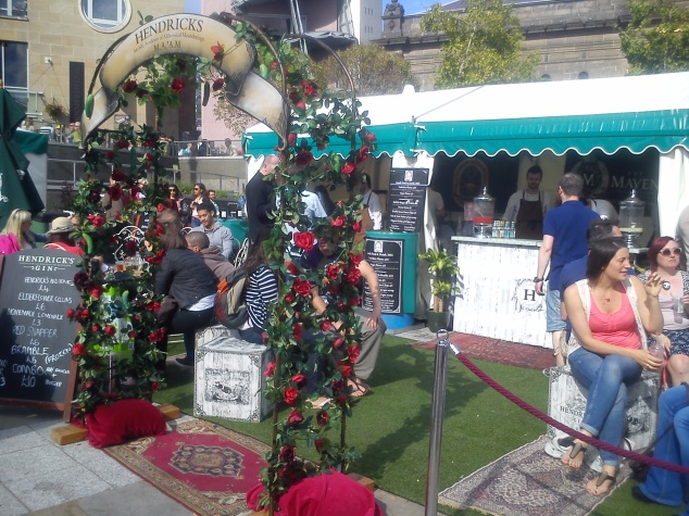 Maven gin garden at Leeds Food & Drink Festival