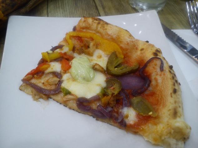 Pizza at Ecco, Headingley