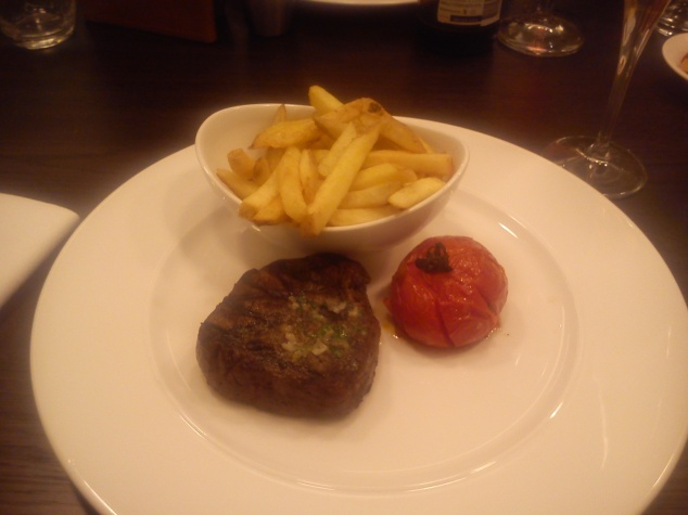 Steak at Gusto, Leeds