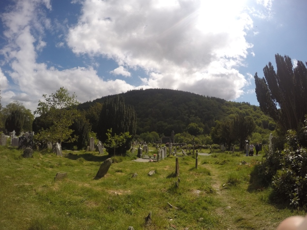 Cemetery at Glendalough, Ireland