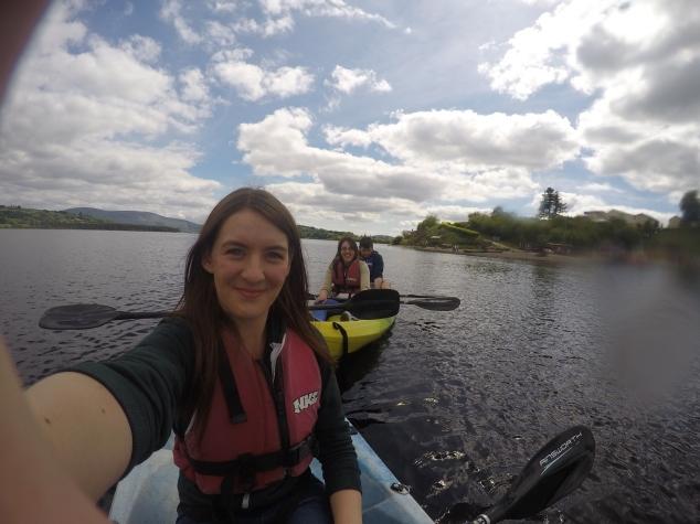 Kayaking, Dublin