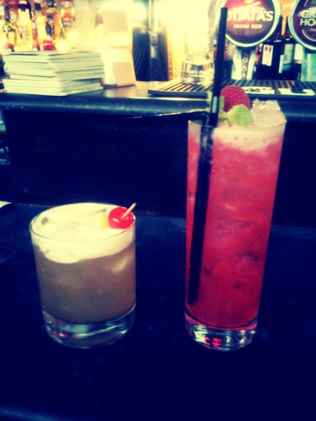 Cocktails at Black Market, Dublin