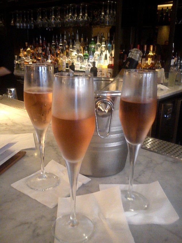 Prosecco at Gusto, Leeds