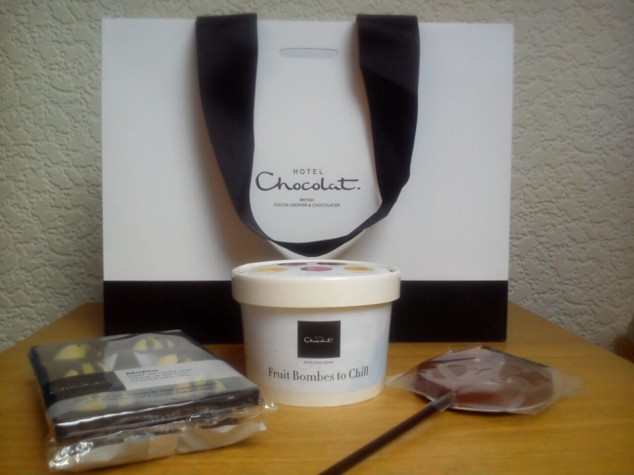 Hotel Chocolat Summer Party goodie bag