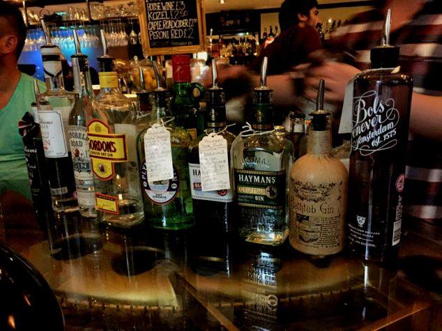 Lazy Lounge gin tasting, Leeds