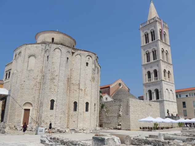 Forum and St. Donatus Church, Zadar