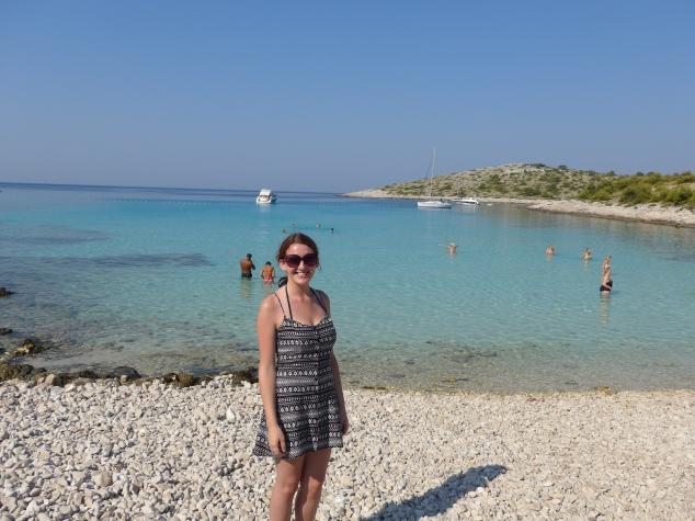 Beach on Kornati island