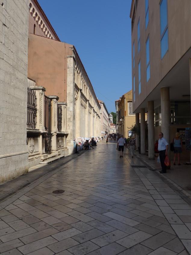 Street in Zadar old town