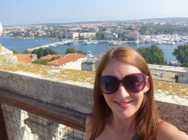 Zadar bell tower view