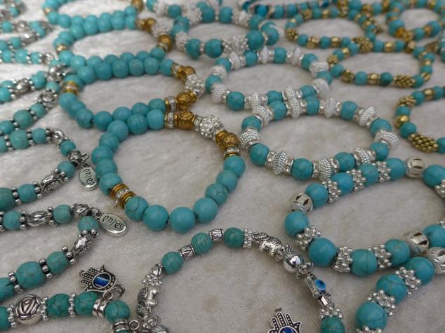 Bracelets, Las Dalias Hippy Market, Ibiza