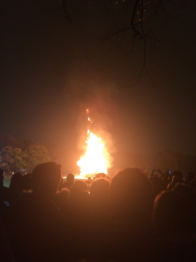 Bonfire Night at Woodhouse Moor