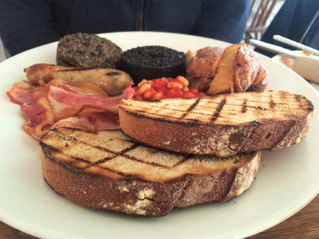 Breakfast at Spoon, Edinburgh