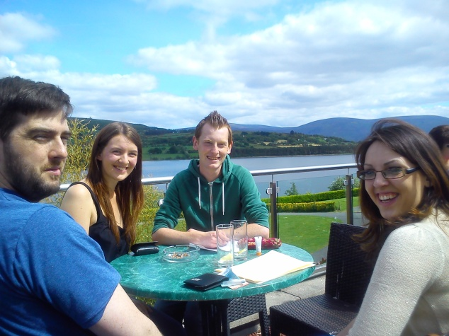 Ireland with friends