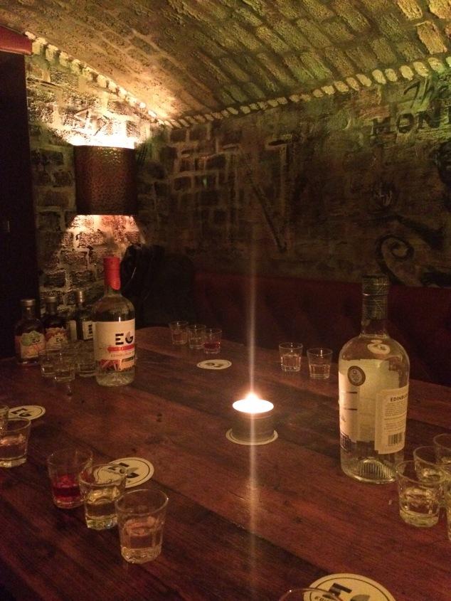 Edinburgh Gin Distillery tasting, Edinburgh