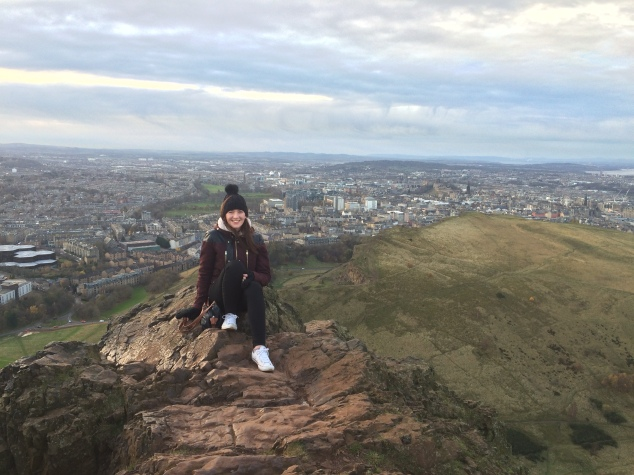 Top of Arthur's Seat, Edinburgh