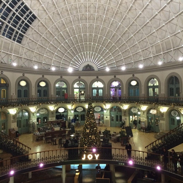Corn Exchange at Christmas, Leeds