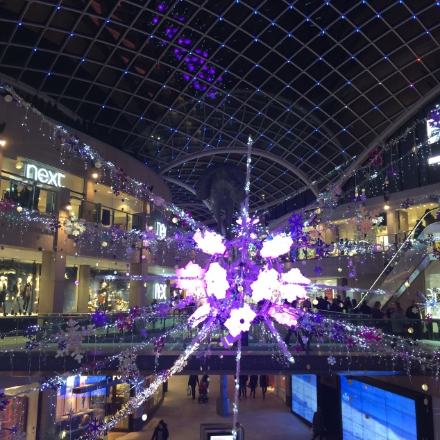 Trinity Centre Christmas decorations, Leeds