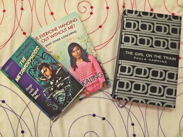 Reading challenge-new books