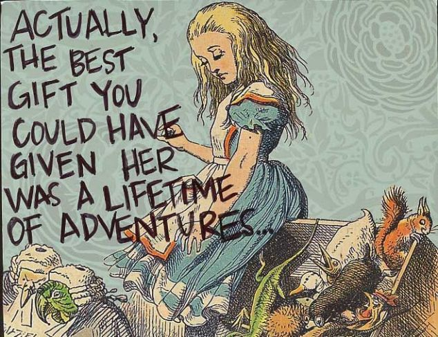 Lifetime of Adventures quote