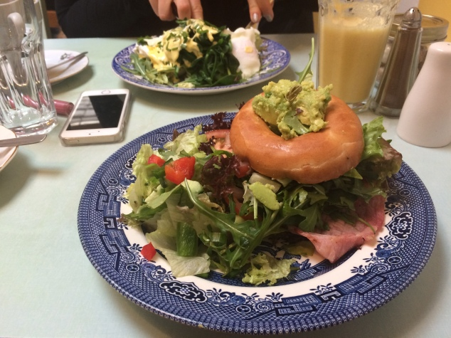 BLAT bagel at Love Rouge, Headingley