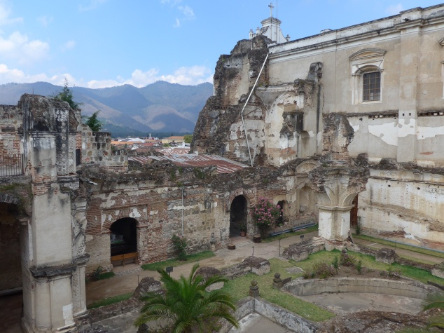 San Francisco Church ruins, Antigua, Guatemala