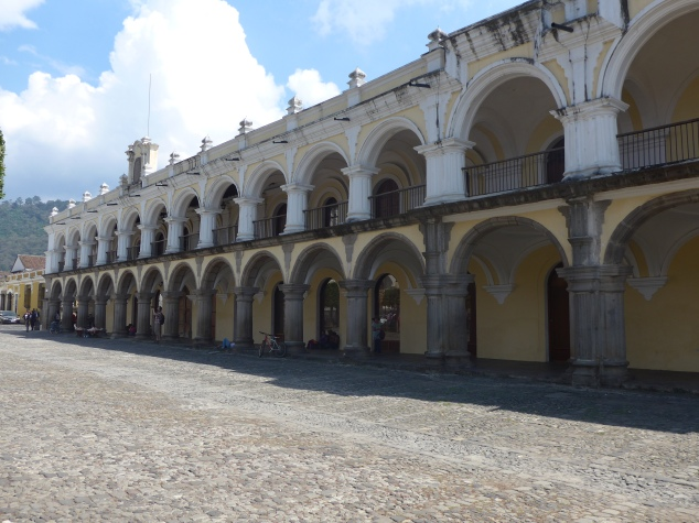 Central Park Square, Antigua, Guatemala