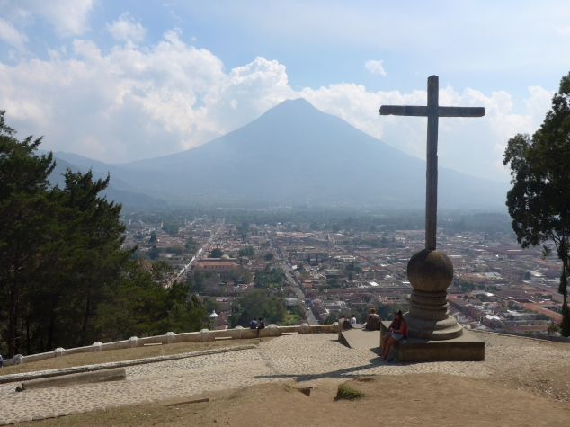 Cerro de la Cruz viewpoint, Antigua, Guatemala