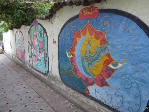 San Marcos street art, Lake Atitlan, Guatemala