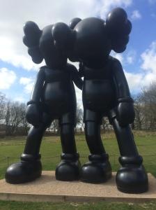 KAWS exhibit at Yorkshire Sculpture Park