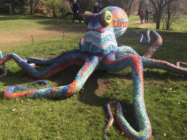 Octopus at Yorkshire Sculpture Park