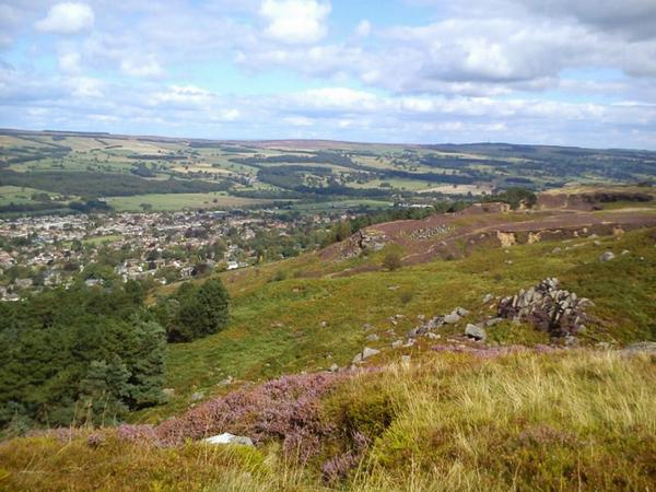 Ilkley Moor, summer in Leeds