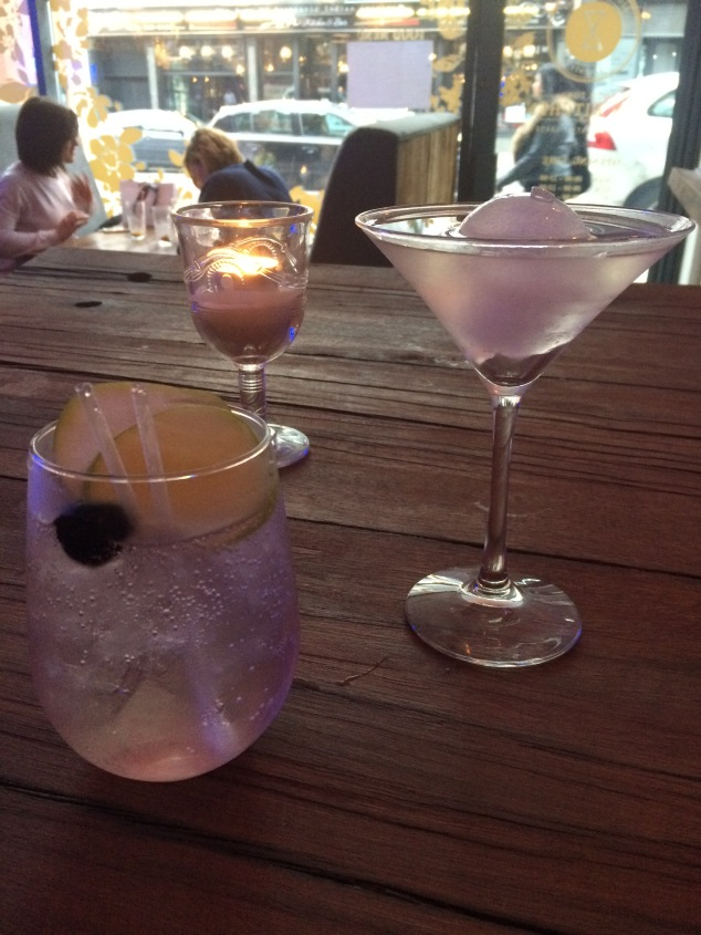 Drinks at Old Tom's Gin Kitchen, Hedonist Project, Leeds