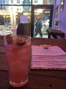 Drinks at Old Tom's Gin Kitchen, Leeds