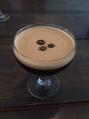 Espresso martini, Leeds Indie Food Coffee and Cocktails event