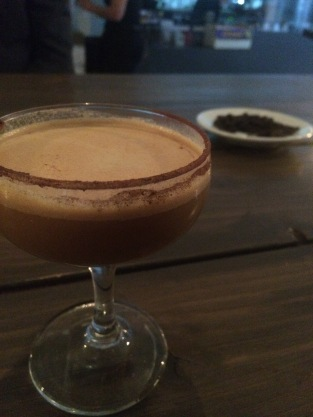 Tiramisu martini, Coffee and Cocktails event