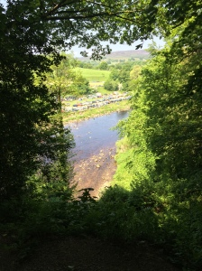 View of River Wharfe, Bolton ABbey