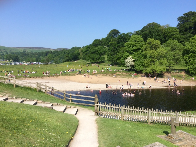 River at Bolton Abbey, Yorkshire
