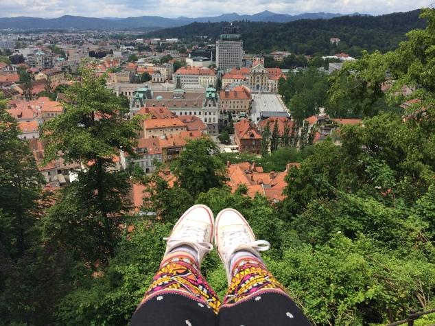 View of Ljubljana, Slovenia
