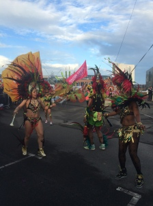 Carnival parade at Big Disco Leeds