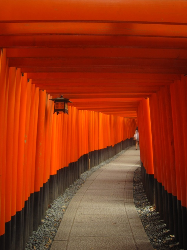 Torii gates at Fushimi Inari Shrine, Kyoto