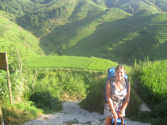Backpacking in Longsheng Rice Terraces