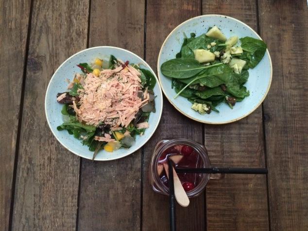 Salads at Iberica Leeds