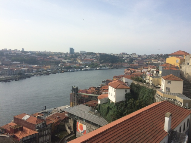 View of Porto from Dom Luis I Bridge
