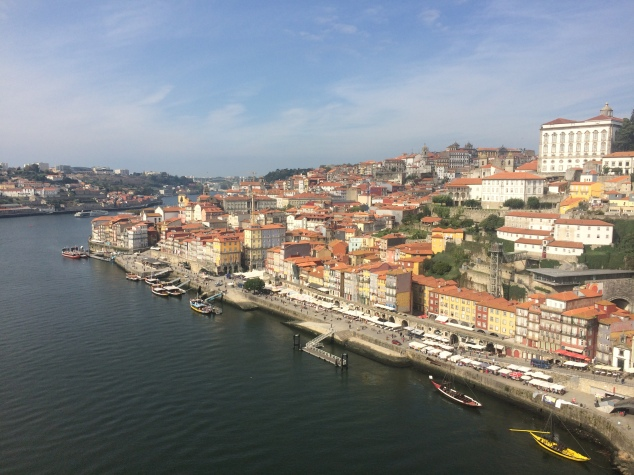 View of Porto from Dom Luis I Bridge