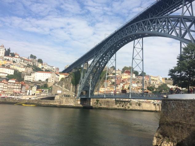 Dom Luis I Bridge from Gaia, Porto