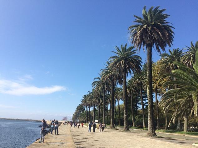 Foz beach promenade, Porto