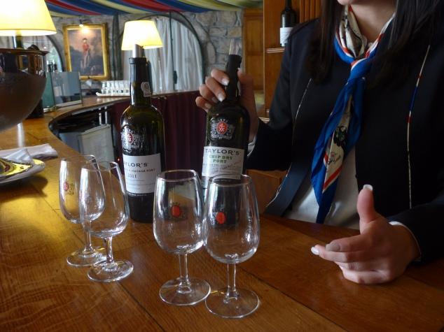 Port tasting at Taylor's, Porto